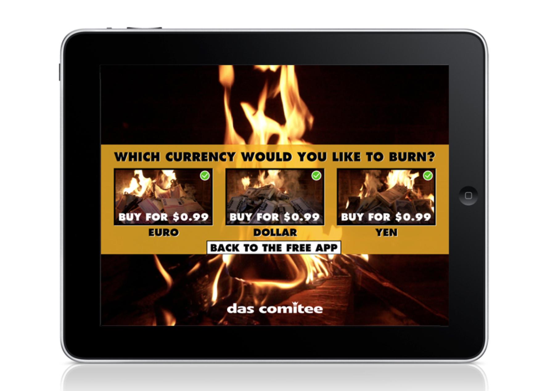 money burner app